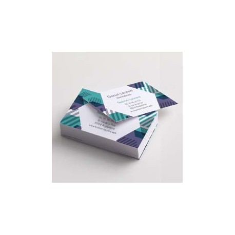 Cartes commerciales papier